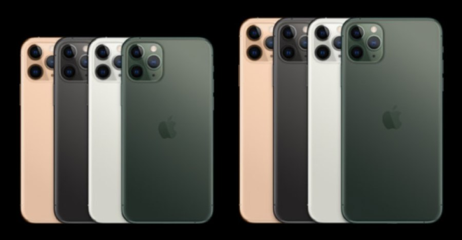 iPhone11ProとiPhone11ProMaxのサイズの違い