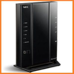 NECのAtermの無線ラン