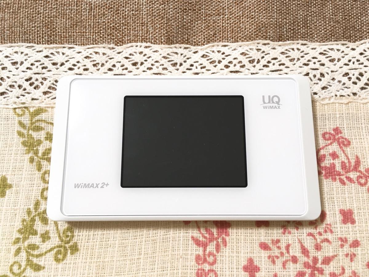 UQ WiMAXのWX05