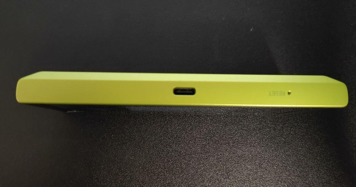 カシモWiMAXの端末Speed Wi-Fi NEXT W05の充電コネクタ
