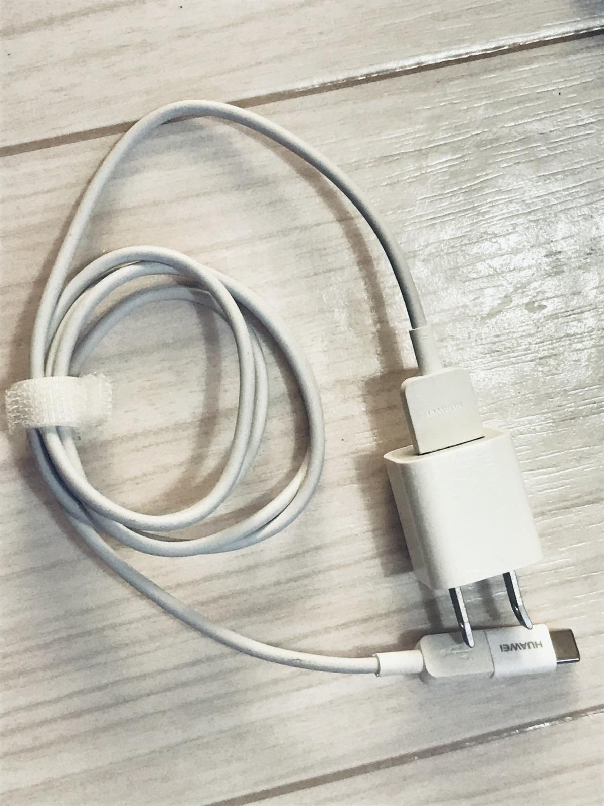 UQ WiMAX2+の端末の充電器