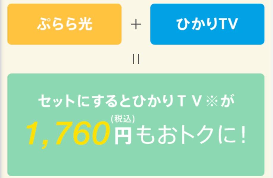 ぷららのひかりTV